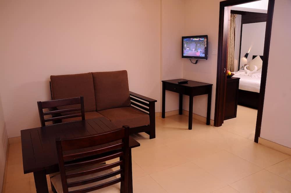 Habitación doble de lujo - Servicio de comidas en la habitación