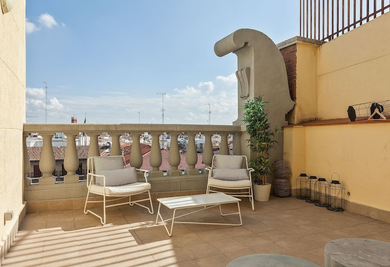 Canaan Boutique Apartments Madrid, Madrid, Panoramic-Apartment, 2Schlafzimmer, Terrasse, Terrasse/Patio
