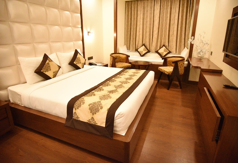 Hotel SK Grand, Jaipur, Deluxe Room, Guest Room