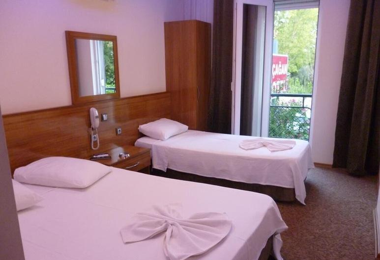 Cagan Hotel, Konyaaltı, Dreibettzimmer, Zimmer