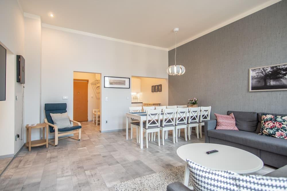 Departamento, Varias camas (Krakovska 5 ) - Sala de estar