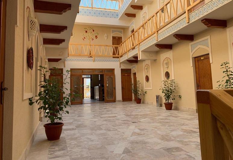 Anor Hotel, Bukhara, Dvorište