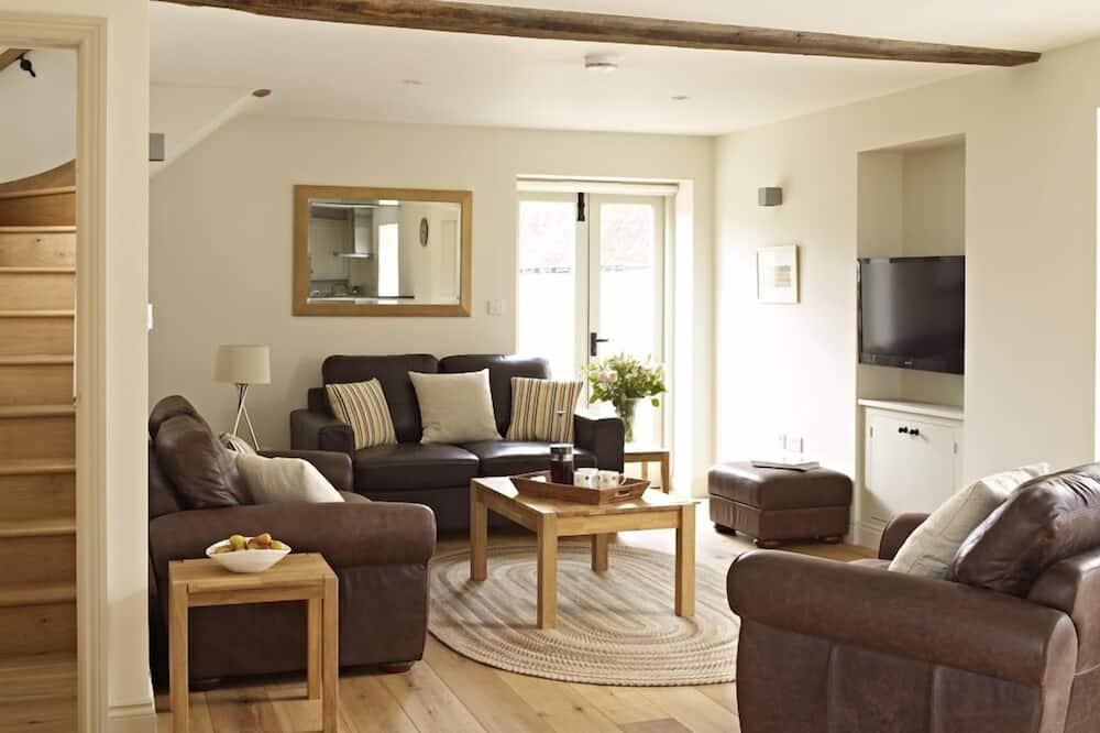 Fritidsbolig – luxury, eget bad, utsikt mot hage (Orchard Cottage) - Lounge