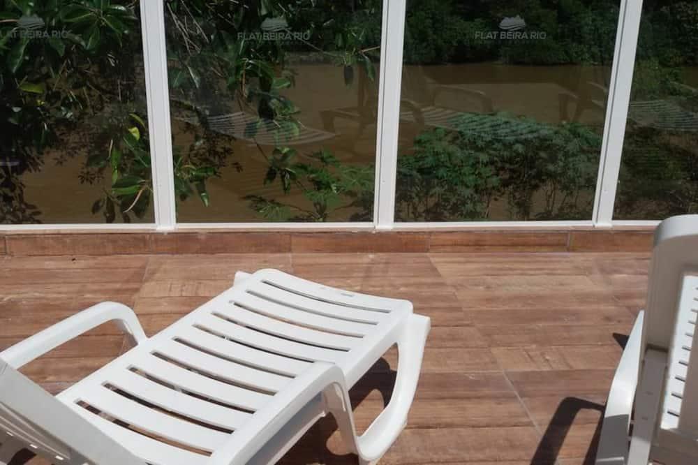 Premium Apartment (Vista para Montanha) - Balcony
