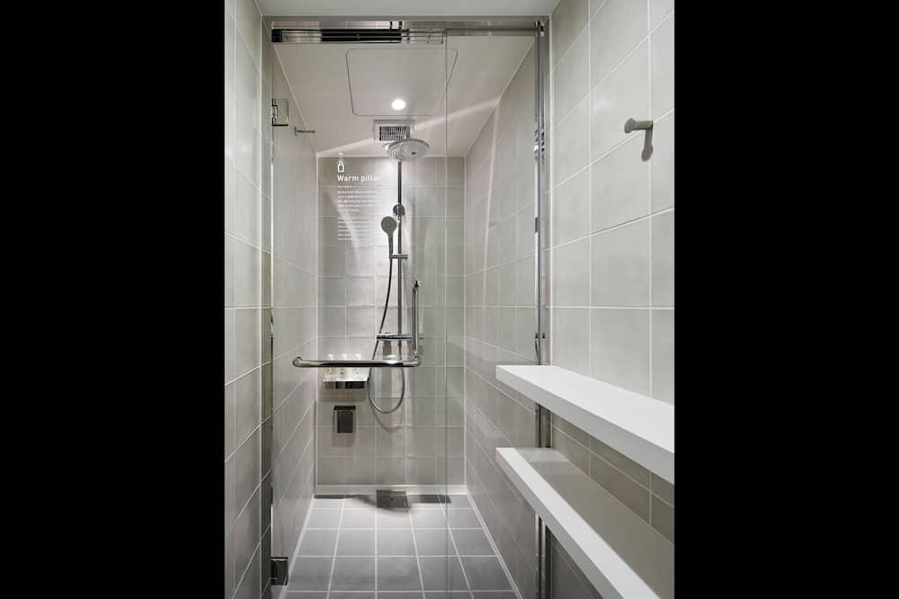 חדר, נשים בלבד, ללא עישון (Sleeping Pod) - מקלחת בחדר הרחצה