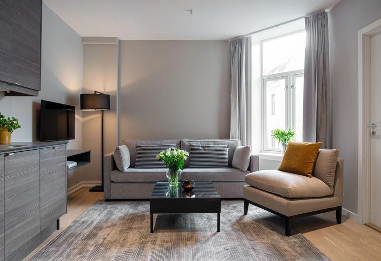 Frogner House Apartments Skovveien 15, Oslo, One Bedroom Apartment Single, Stue