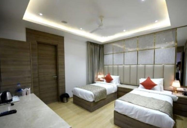 Hotel Tony Inn, New Delhi, Dobbelt- eller tomannsrom – deluxe, Gjesterom