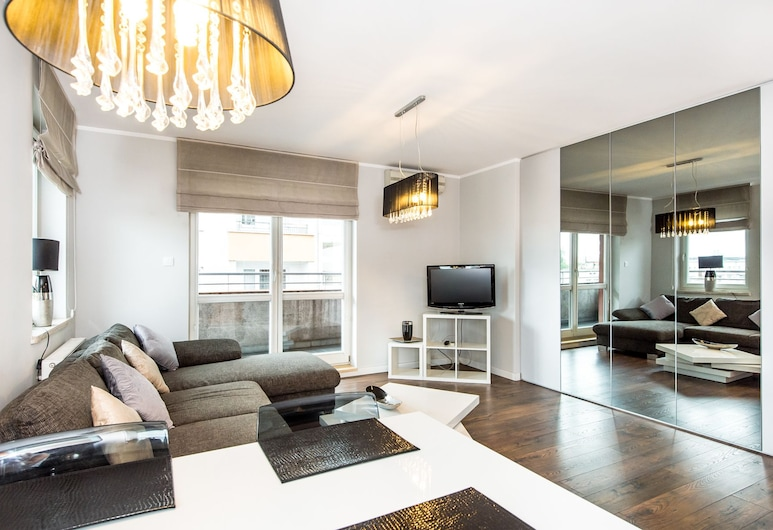 Super-Apartamenty -  Targi Poznanskie, Poznan, Apartamento Comfort, Sala de Estar