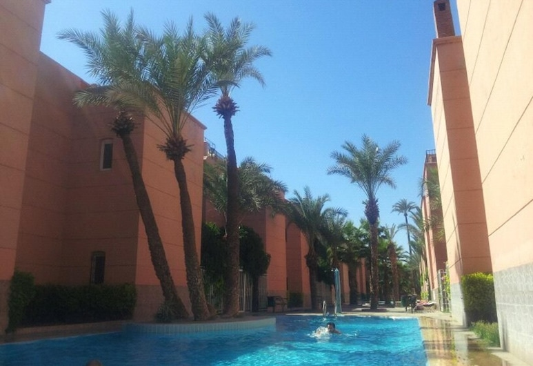 Apartment With 3 Bedrooms in Marrakesh, With Shared Pool, Enclosed Garden and Wifi, Marrakech, Kolam Renang