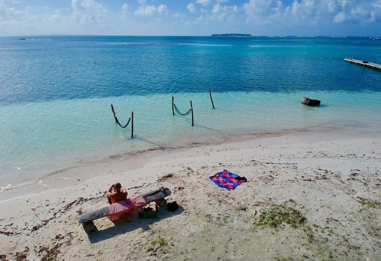 Private bedroom on paradise San Blas Island, Archipel de San Blas, Piscine en plein air