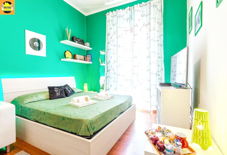 Apartment With 3 Bedrooms in Roma, With Wonderful City View and Wifi - 10 km From the Beach, Rome, Apartment, Stadtblick, Zimmer