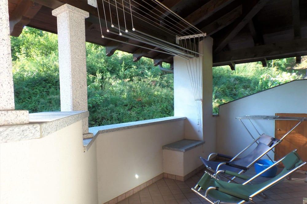 Apartman, 3 spavaće sobe, pogled na jezero - Balkon