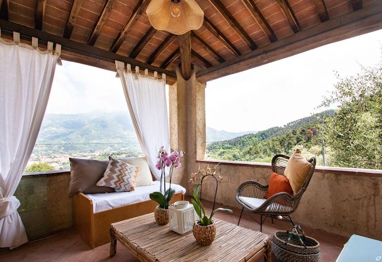 Villa Doriana, Camaiore, Vila, 5 spavaćih soba (Villa Doriana), Terasa/trijem