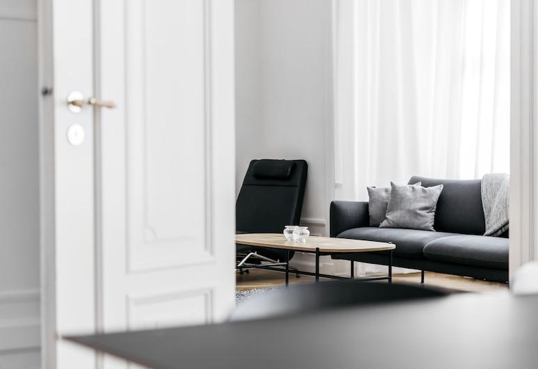 200m2 Apartment close to Tivoli, Kodaň, Apartmán typu Deluxe, Obývací pokoj
