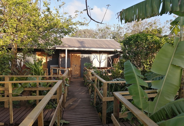 Tuava Lodge, Hanga Roa, บริเวณโรงแรม