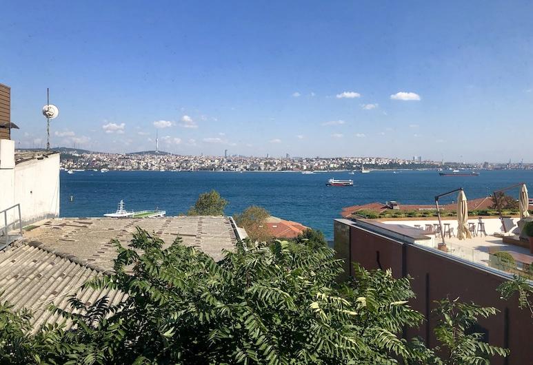 Cihangir, Taksim, Istanbul Vue sur le Bosphore, Istanbul, Plage