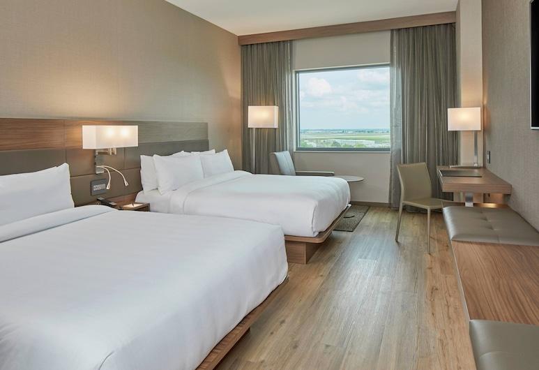 AC Hotel by Marriott Atlanta Airport Gateway, College Park, Zimmer, 2Queen-Betten, Nichtraucher, Ausblick, Zimmer