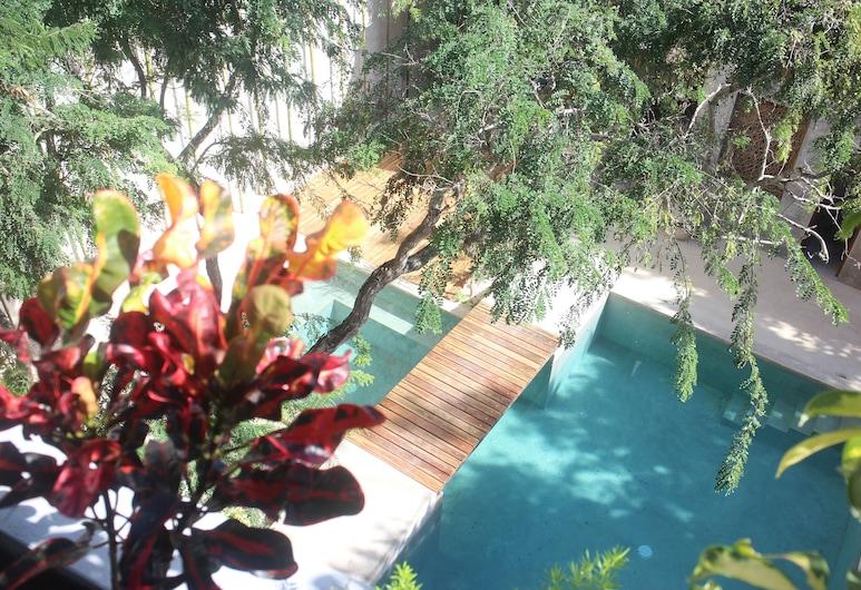 Little Gem Charme Hotel, Tulum, Výhľad na záhradu