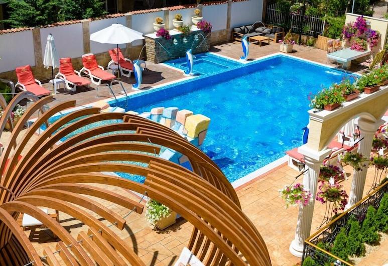 Apart-Hotel Sweet Homes, Sunny Beach, Alberca al aire libre