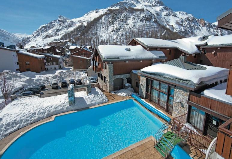 Résidence Spa Les Chalets de Solaise, Val-D'isere, Εξωτερική πισίνα