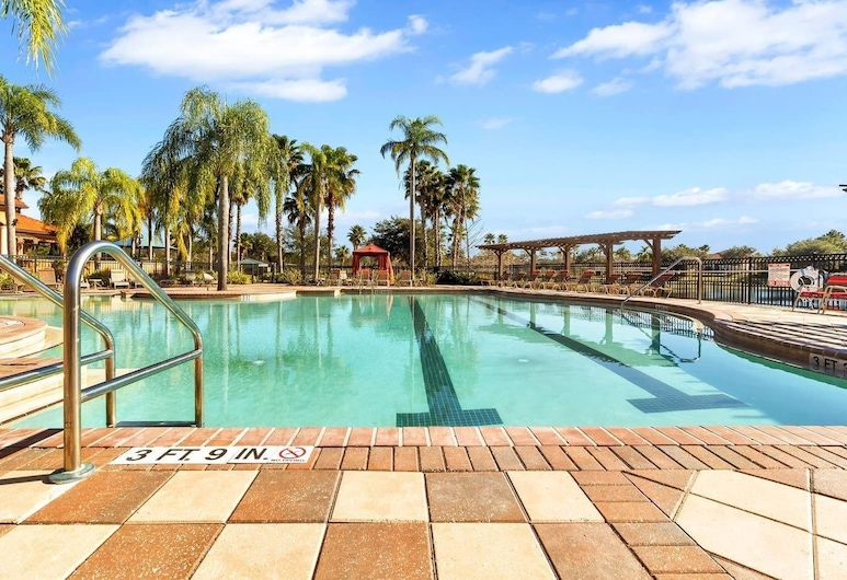 Lake View With Sunset Near Disney! 6br/5.5br Themed Rooms, Davenport, Bazen