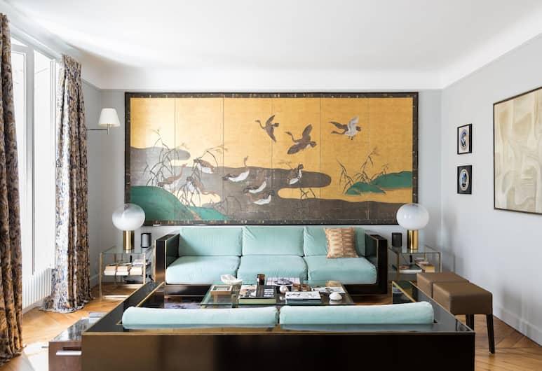 Boulevard Beaumarchais III by Onefinestay, Paris, Apartemen (2 Bedrooms), Ruang Keluarga