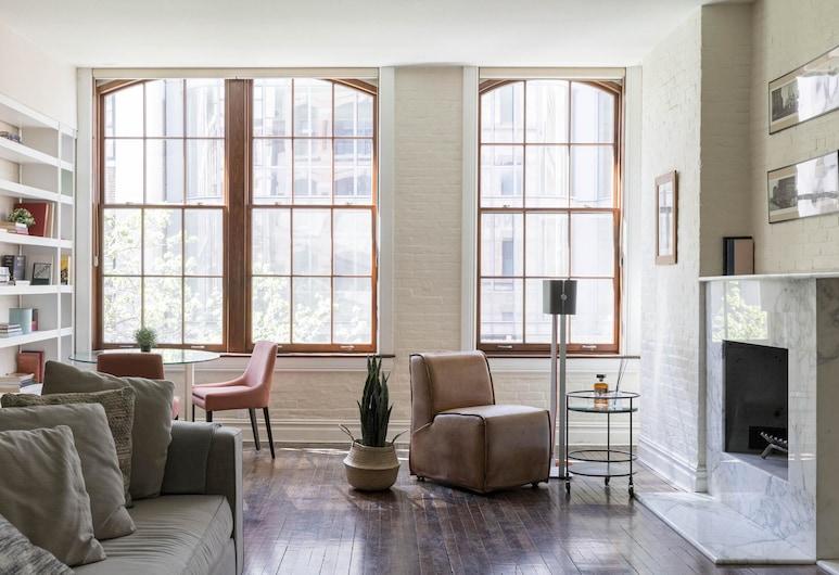 West Soho Loft by Onefinestay, New York, Apartment (2 Bedrooms), Bilik Rehat