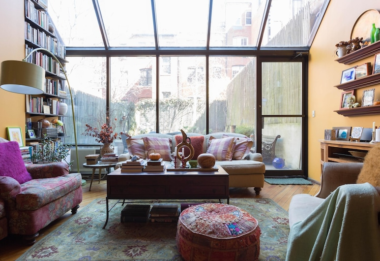 Elmwood Place by Onefinestay, New York, Apartment (3 Bedrooms), Bilik Rehat
