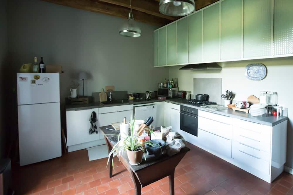 Tweepersoonskamer (Blue) - Gemeenschappelijke keuken