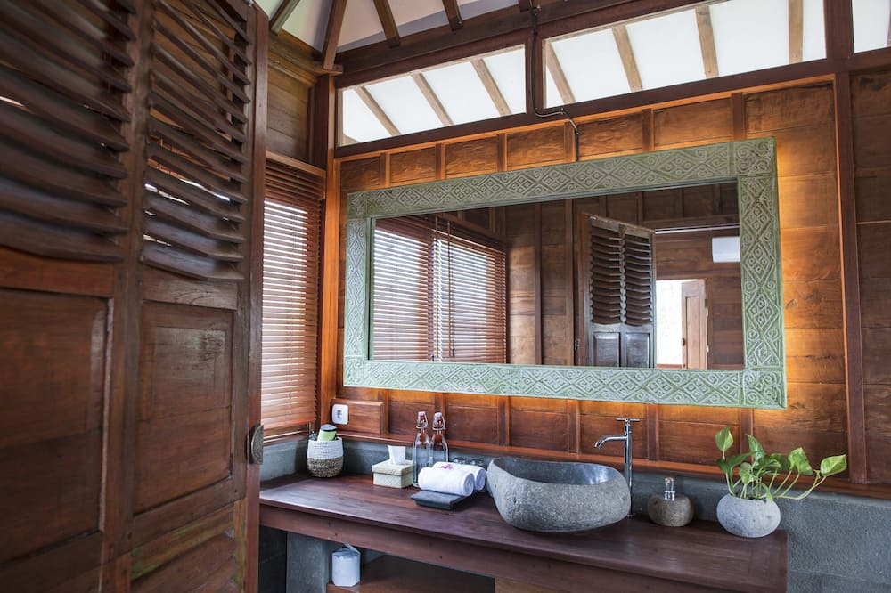 Vila typu Deluxe, 2 spálne (Villa Kayu) - Kúpeľňa