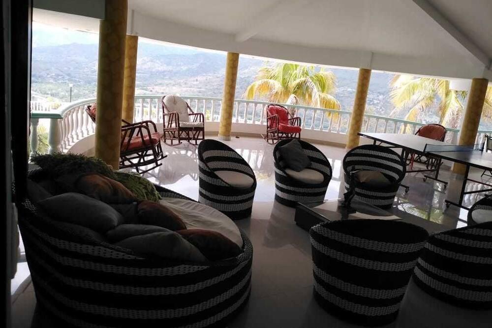 Panorama-hus - 5 soveværelser - privat pool - udsigt til dal - Stue