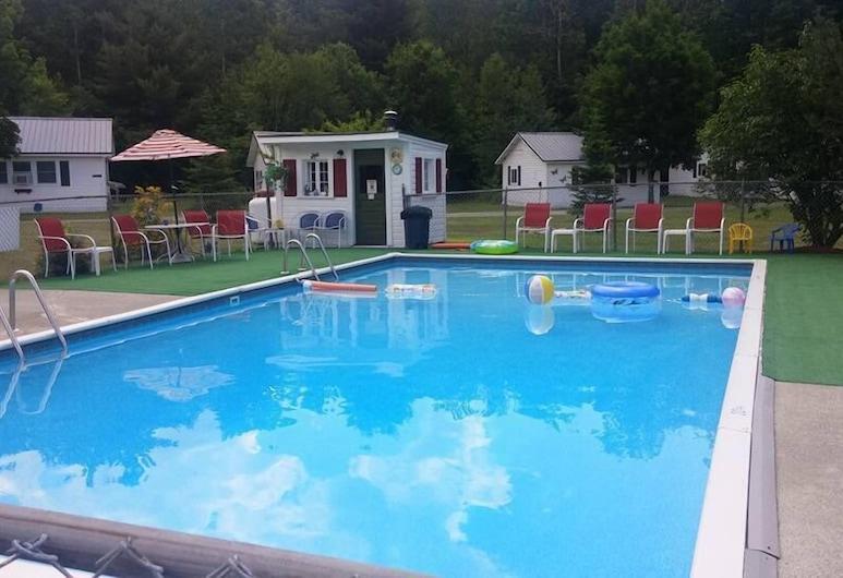 Carroll Motel & Cottages, Twin Mountain, Venkovní bazén