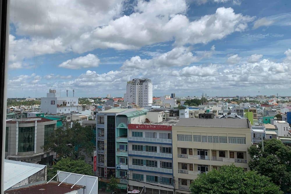 Dobbeltrom, utsikt mot byen - Utsikt mot byen