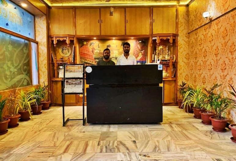Hotel Galaxy Inn, Jaipur, Saguão