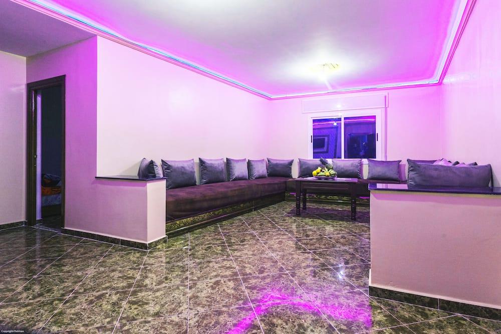 דירת בייסיק, 2 חדרי שינה - אזור מגורים