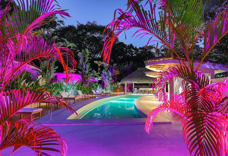 Luxury Villas of Rancho Manuel Antonio, Manuel Antonio, Apartamento de Luxo em Condomínio Fechado, 3 Quartos, Vista Montanha, Junto à piscina, Vista do quarto