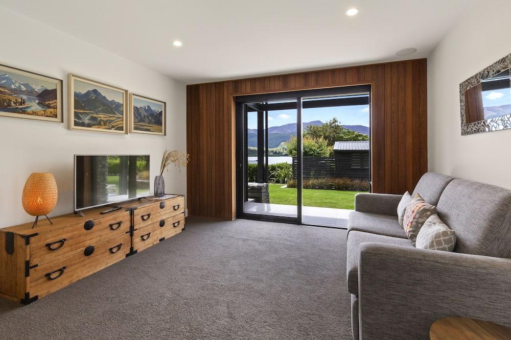 Domek, 4 ložnice, výhled na jezero, u jezera - Obývací pokoj