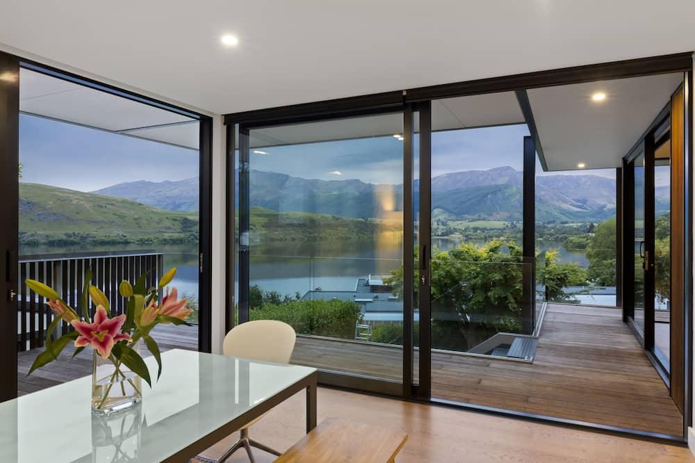 Domek, 4 ložnice, výhled na jezero, u jezera - Balkón