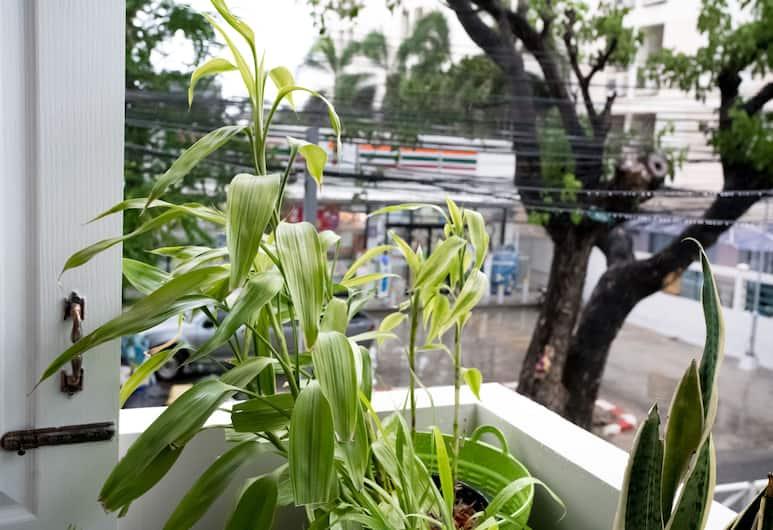 RoomQuest Ratchada, Bankokas, Deluxe Room, Terasa / vidinis kiemas