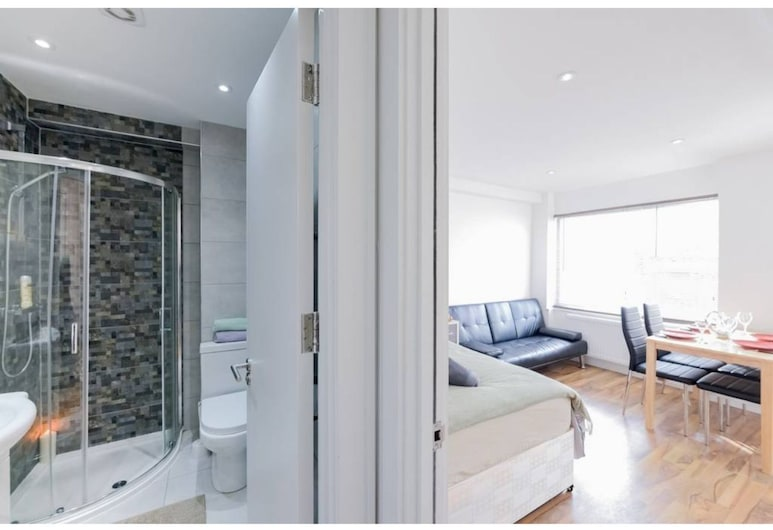 GSS 2C, לונדון, דירה, חדר רחצה פרטי, נוף לחצר (GSS 2C), חדר