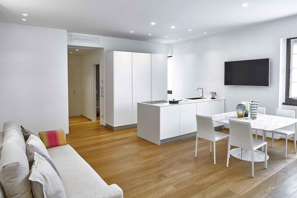 Luksuzni apartman, 1 spavaća soba, prizemlje - Izdvojena fotografija