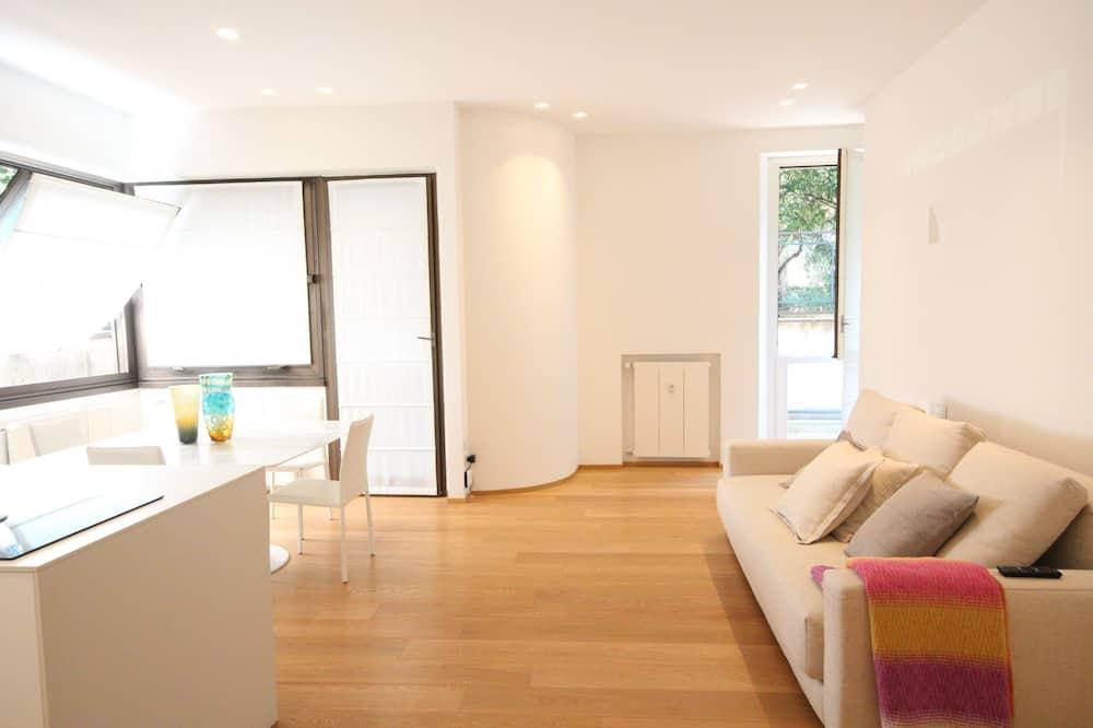 Apartemen Mewah, 1 kamar tidur, lantai dasar - Area Keluarga