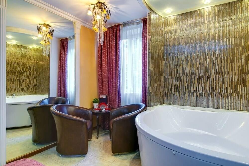 Premium Δωμάτιο, Μπανιέρα με Υδρομασάζ - Μπανιέρα με υδρομασάζ