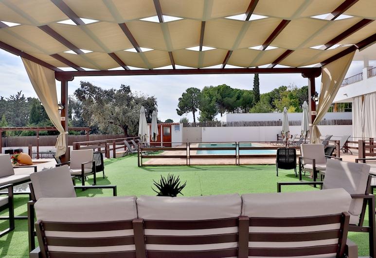 Hacienda El Brillante, Córdoba, Terrasse/patio