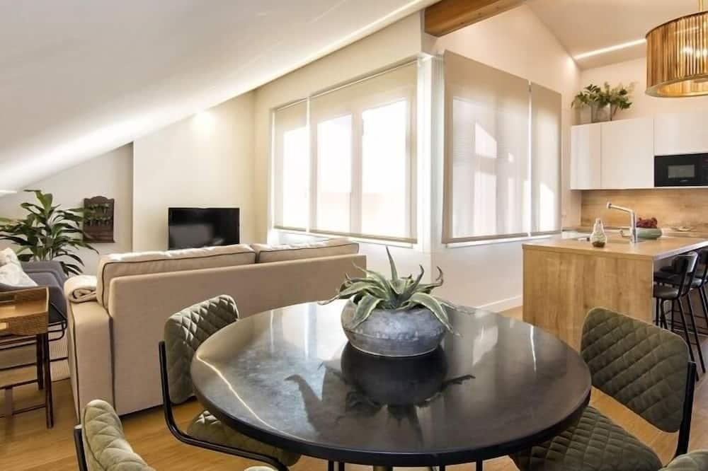 Appartement, 1 chambre - Restauration dans la chambre