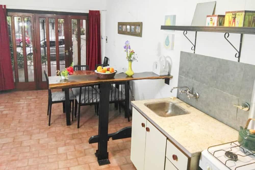 家庭單棟房屋, 廚房, 庭園 - 客廳