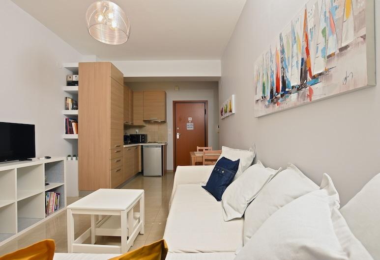 Rigas Apartment, Θεσσαλονίκη, Διαμέρισμα, 1 Υπνοδωμάτιο, Περιοχή καθιστικού