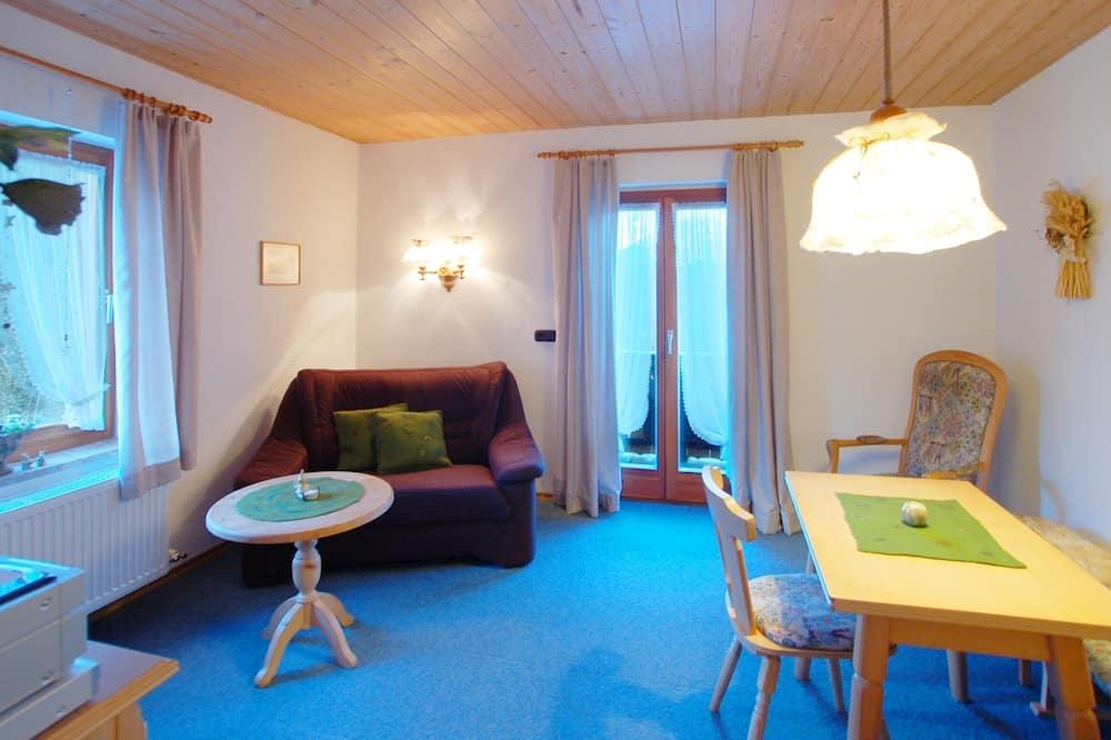 Departamento, 1 habitación, vista a la montaña (Ferienwohnung 2) - Sala de estar