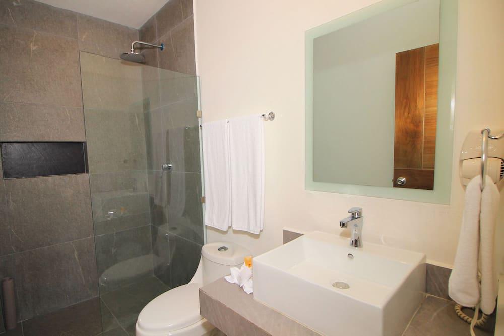 Двухместный номер «люкс» с 1 двуспальной кроватью - Ванная комната