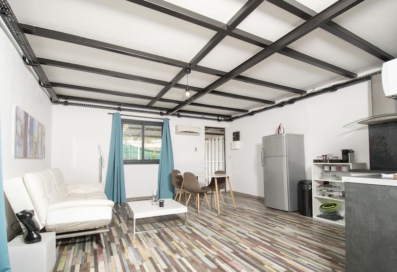 Apparthotel Corail - T2 - 45m2 Rénové - 10' de l'aéroport, Saint-Denis, Departamento, 1 habitación, Sala de estar